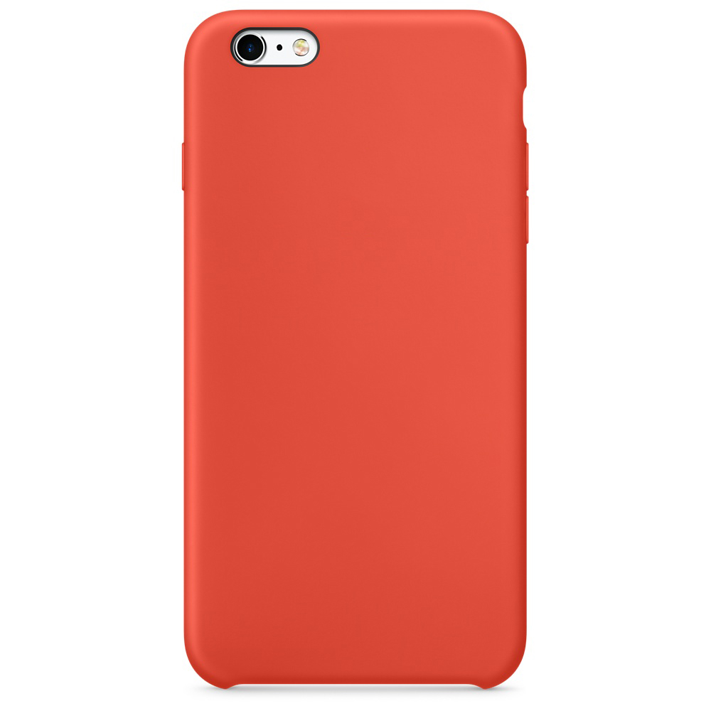 iphone 6s silicone case orange 11