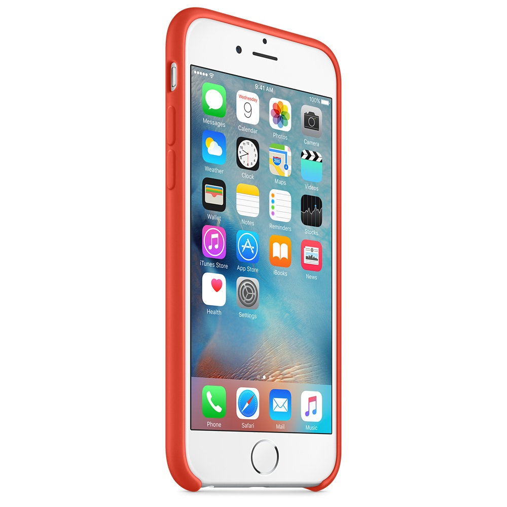 iphone 6s silicone case orange 7
