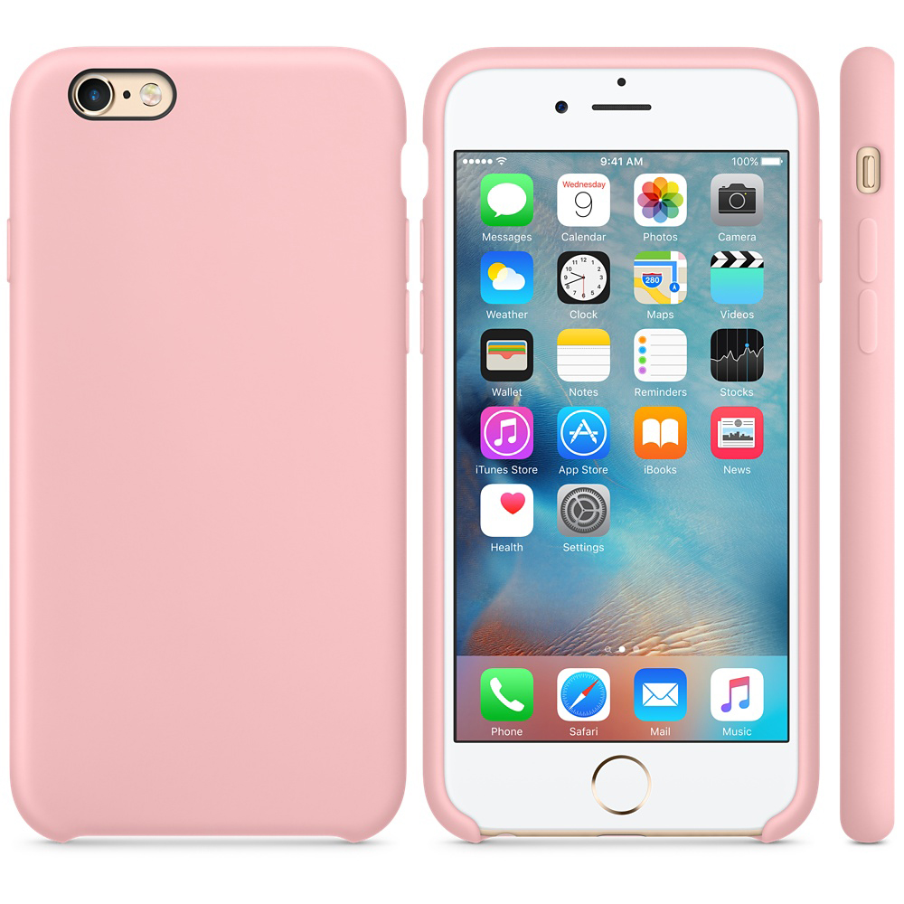 iphone 6s silicone case pink 2 2