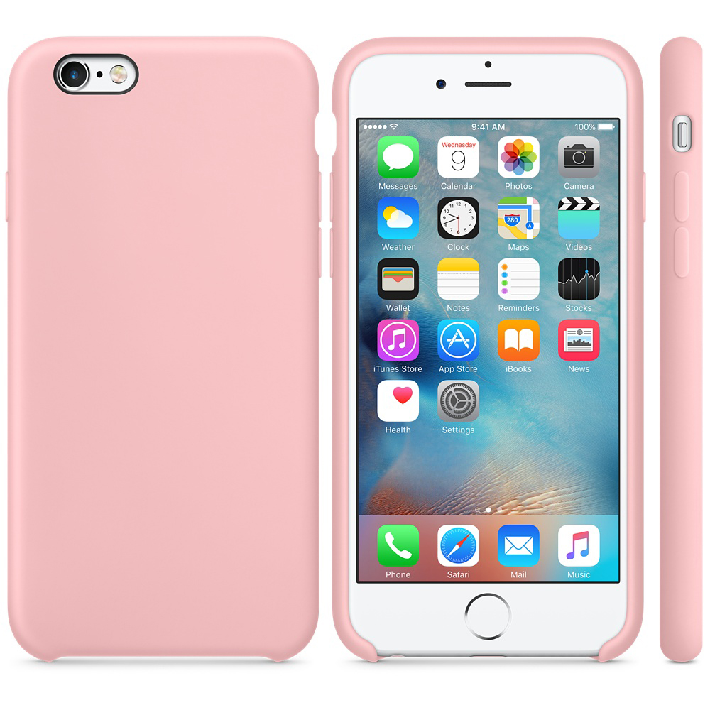 iphone 6s silicone case pink 4 4