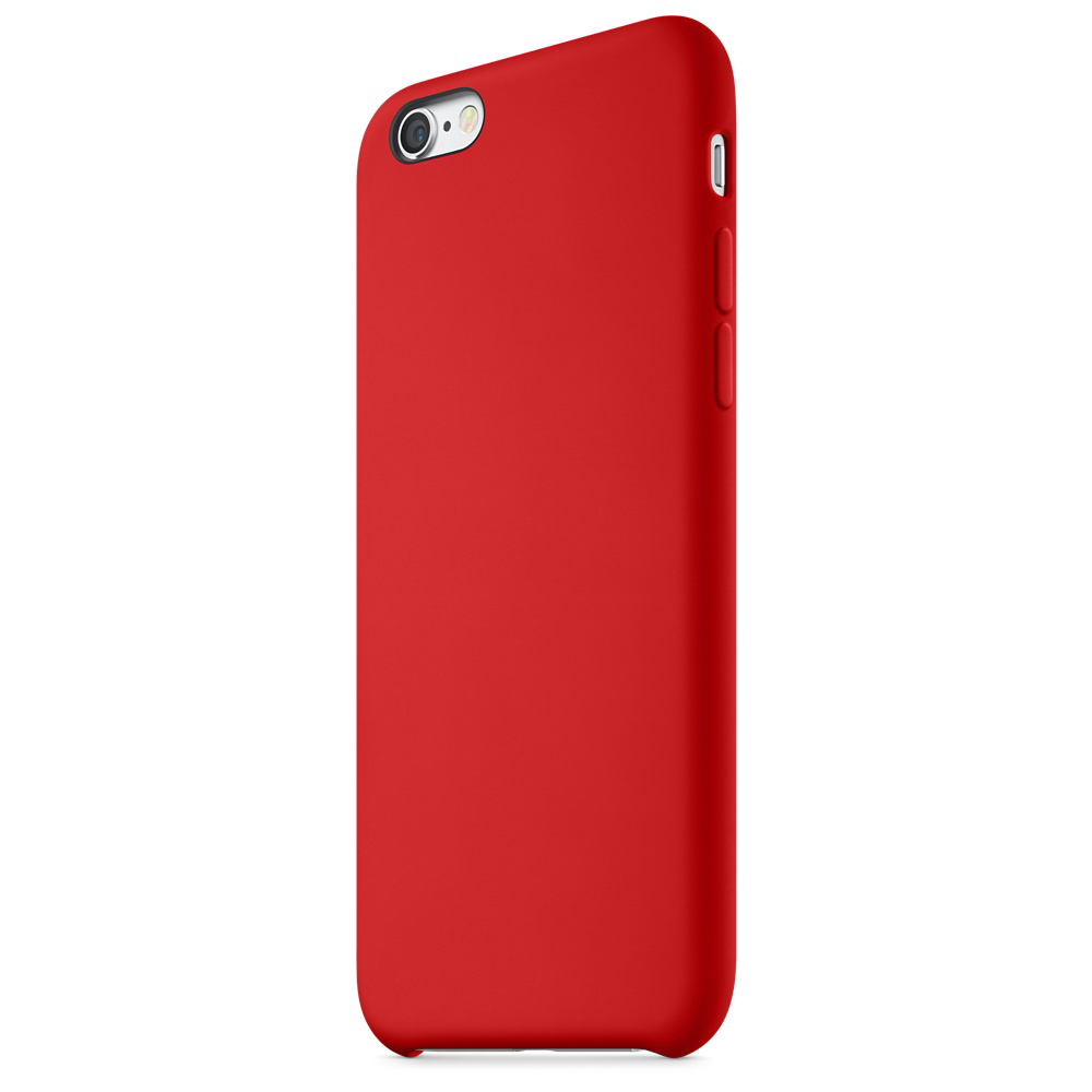 iphone 6s silicone case red 6