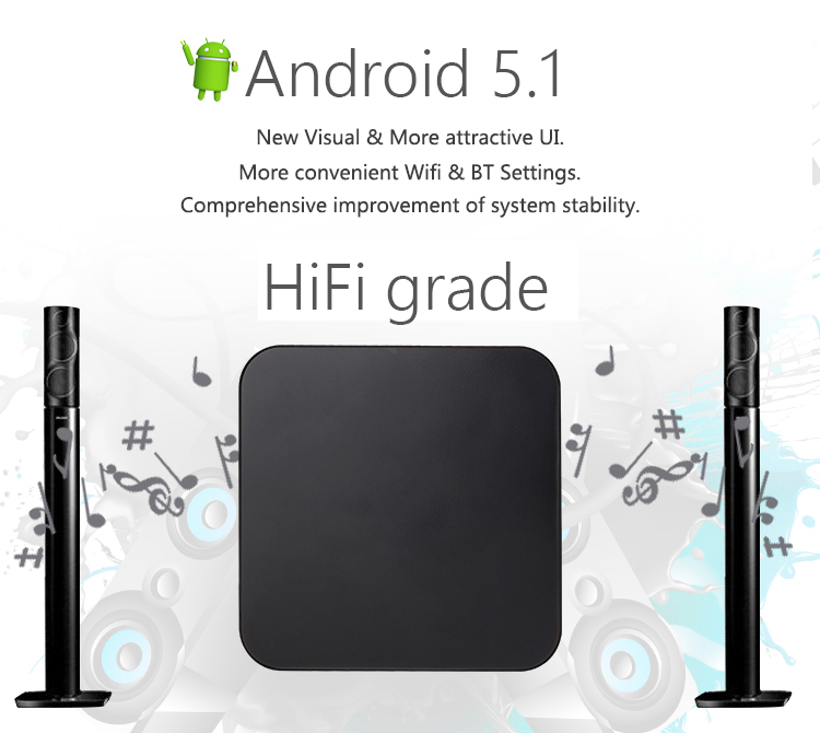 MXQ PRO Andriod TV BOX Amlogic S905 Cortex A53 Quad-core 1GB 8GB WiFi HD 4K HDMI Player 10