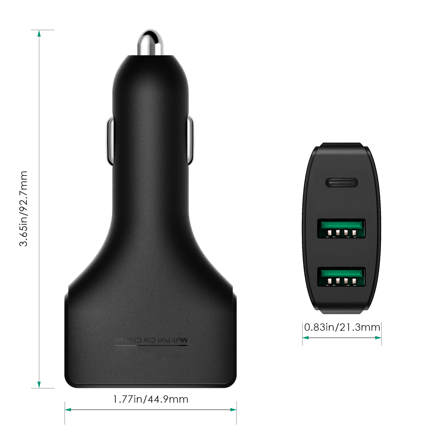 USB-C type c car charger firefly china factory DC-33 9