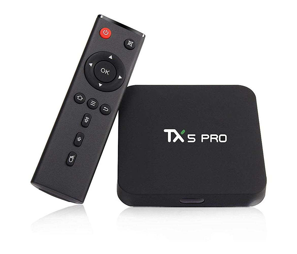 TX5 PRO TV BOX Android 6.0 Marshmallow Amlogic S905X 2G 16G KODI 4K WIFI bluetooth v4.0 Media Player 3