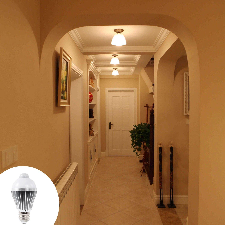 Smart Human Induction Led Lamp Motion Sensor Light Bulb Automatic 4